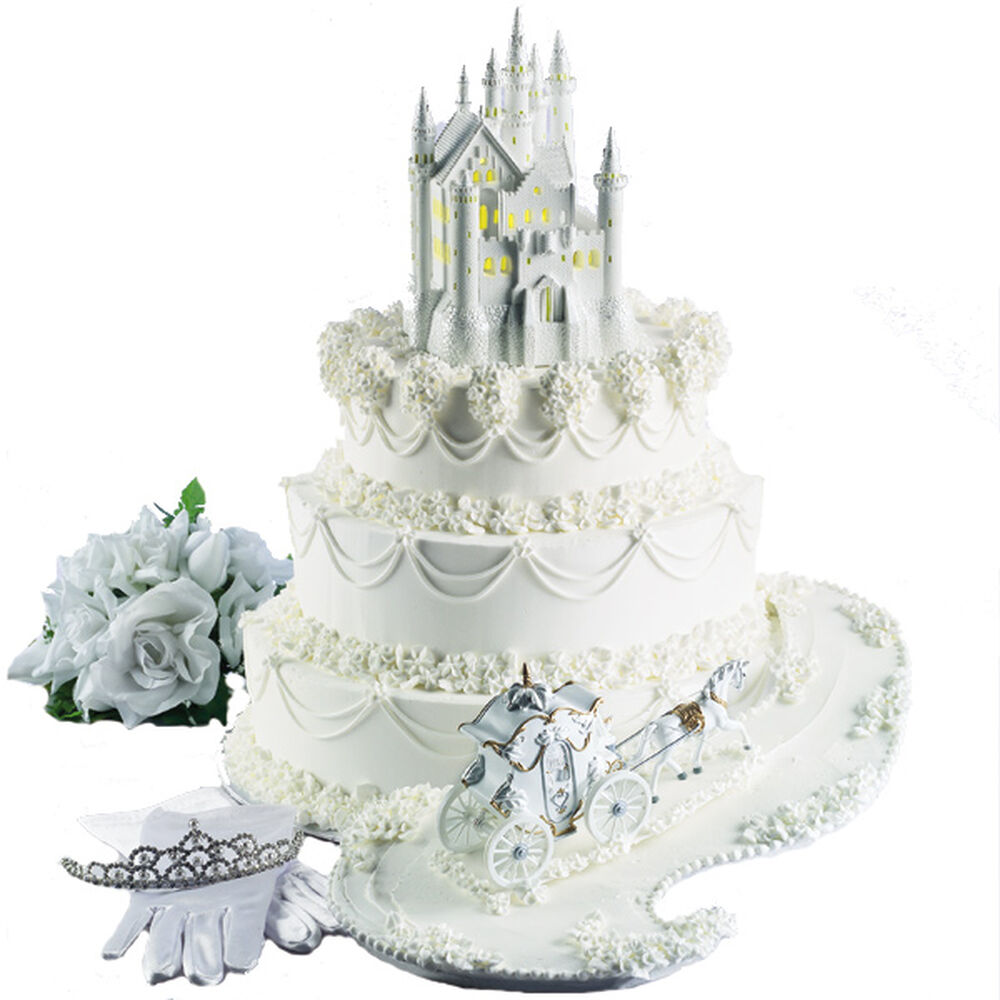 The Fairy Tale Begins Castle Cake Wilton