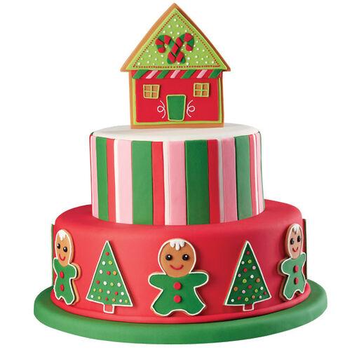 Neon Noel Cake