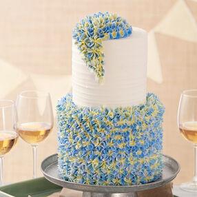 Elegant Hydrangea Cake
