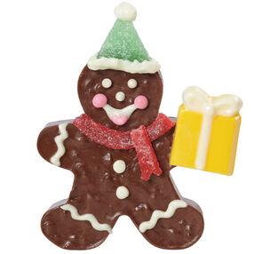 Gingerbread Boy Bearing Presents