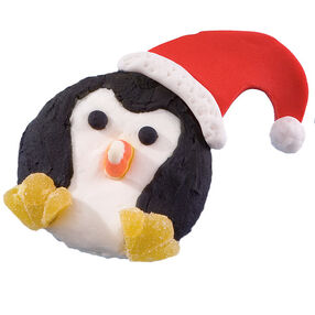 Penguin Party Cupcake