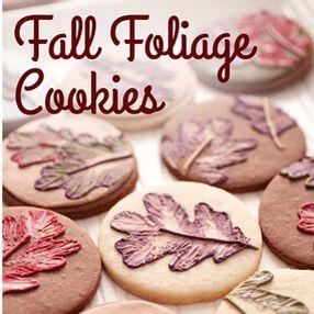 Fall Foliage Cookies