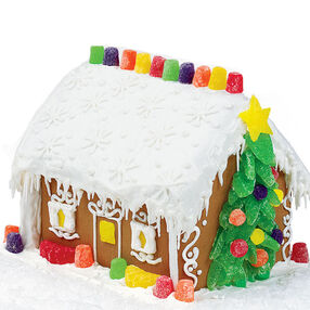Holiday Home Gingerbread House