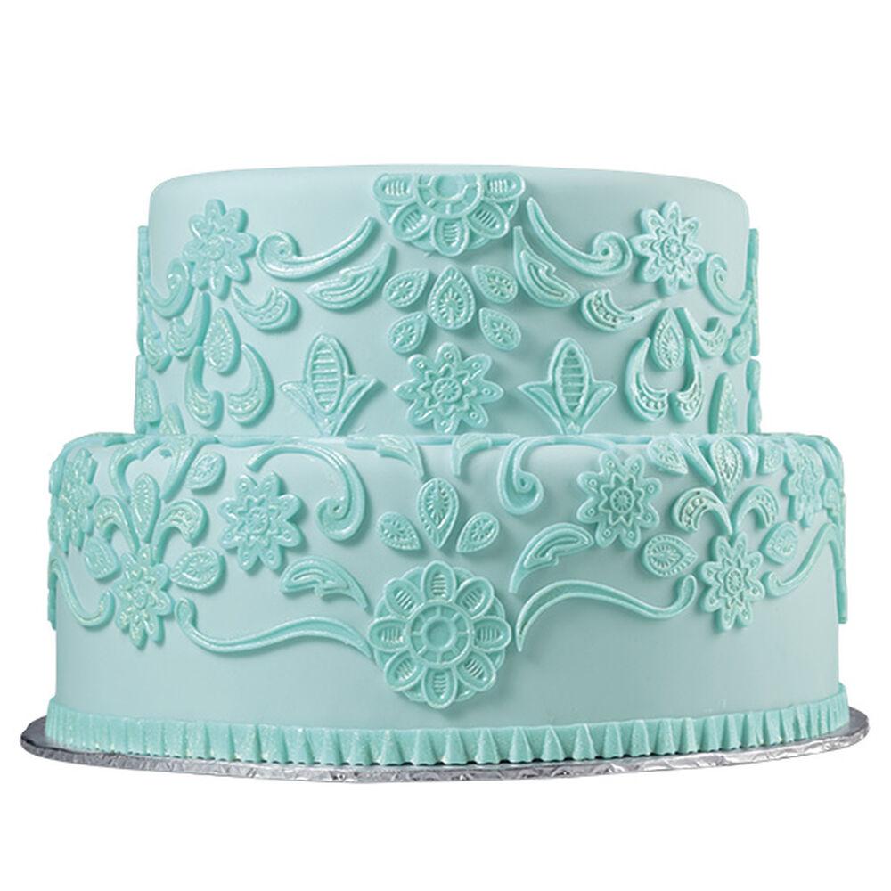 Lovely Lace Fondant Cake Wilton