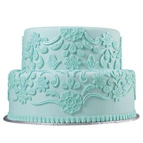 Lovely Lace Fondant Cake
