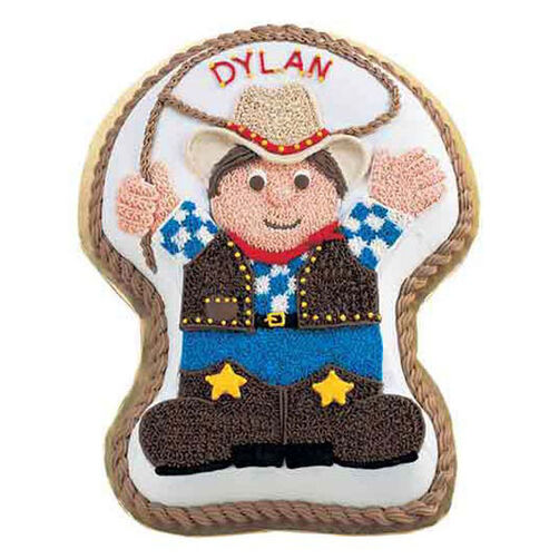 Round Up Cowboy Cake