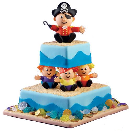 Buccaneer Tiers Cake