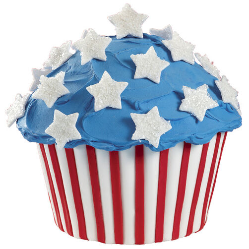 USA's Birthday Cupcake! Cake
