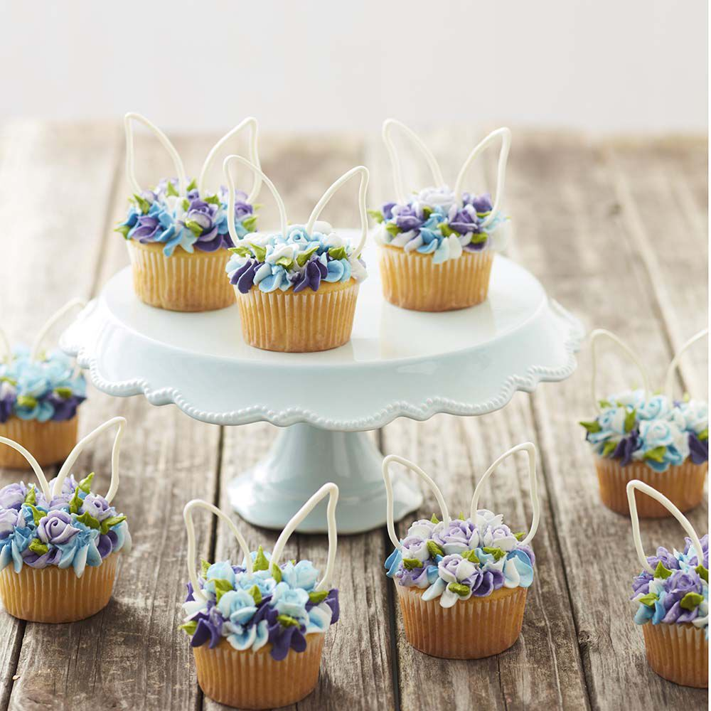 Cupcake Cake Ideas: Blooming Easter Cupcakes