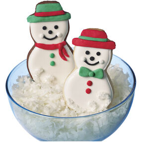 Stylin' Snowmen Winter Cookies