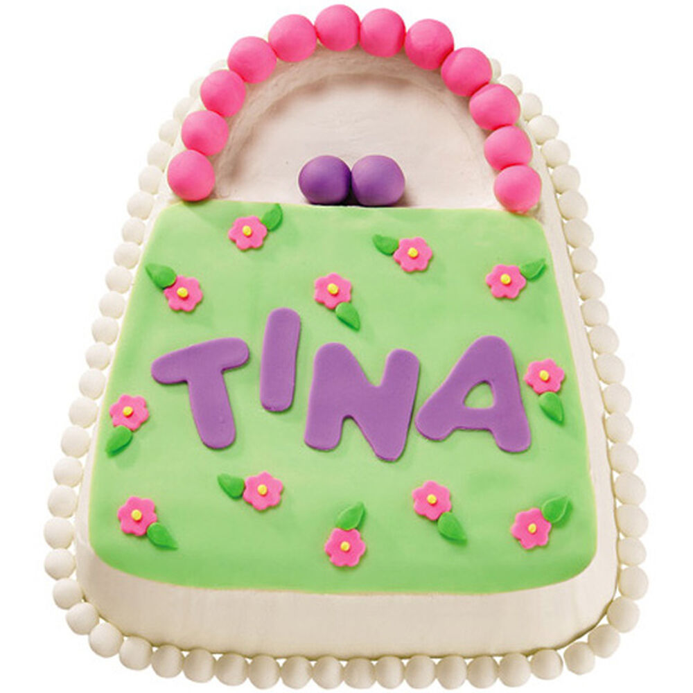 Wilton Cake Decorating Bag Instructions : Blossom Bag Cake Wilton