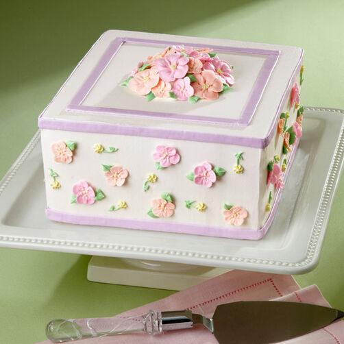 Framed Flowers Cake