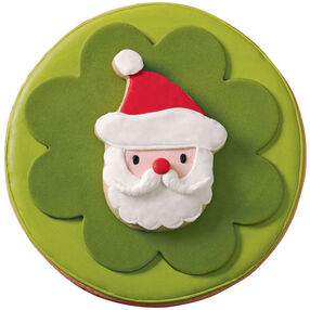 Santa in the Spotlight Cookies