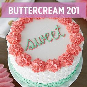 Buttercream 201 classes