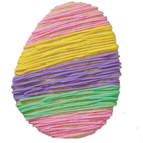 Rainbow Egg Cookie