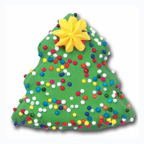Twinkle Tree Cookies