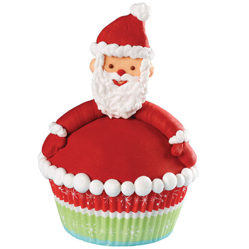 Festive Face Cupcakes