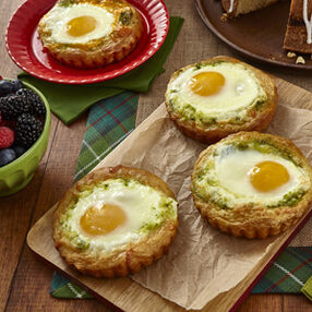Baked Breakfast Egg Tarts