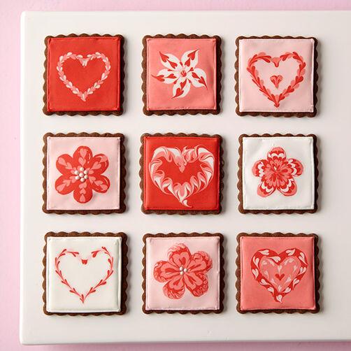 Love Squared Valentine Cookies