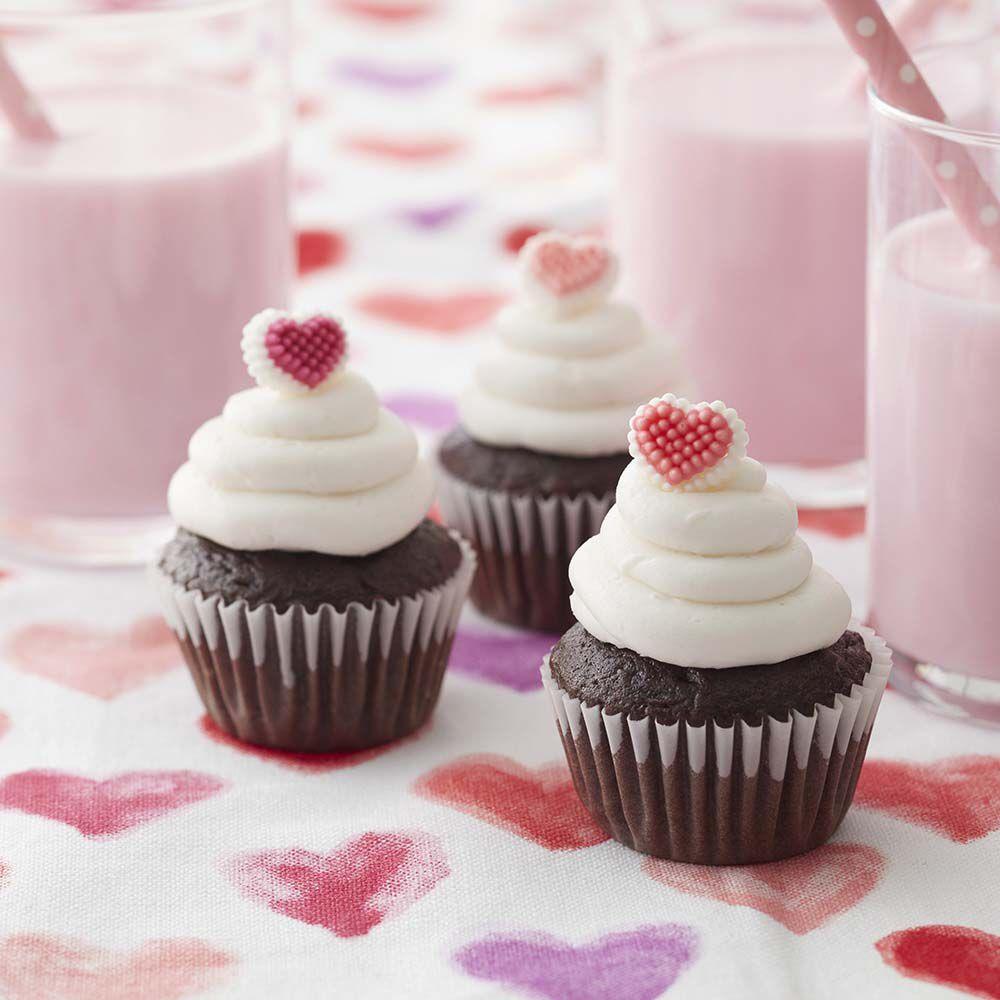Mini Valentine Cupcakes Wilton. ➤. Cupcake Decorating Ideas ...