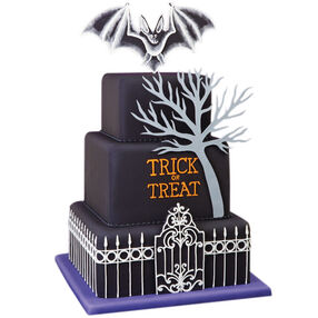 Bat Hang-Out Cake