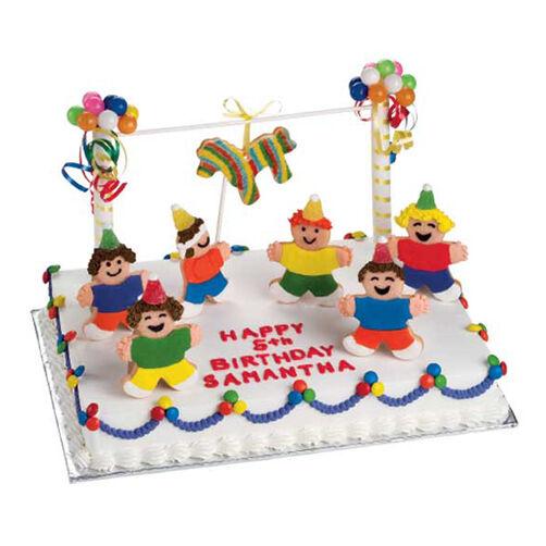 Pinata Fiesta Cake