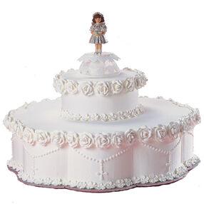 Beginning Her Devotion Cake