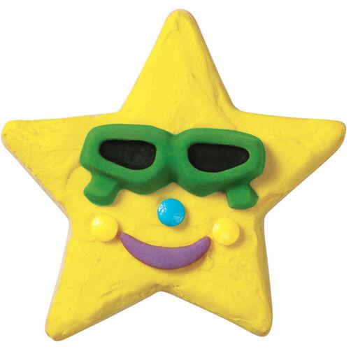 Sunshine Star Cookies