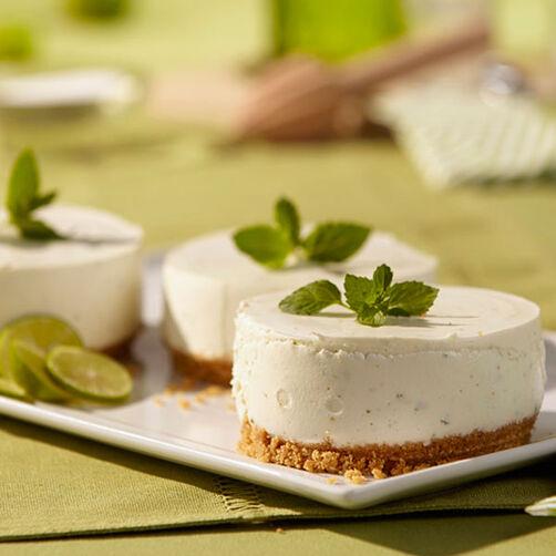 Mojito Mousse Cakes