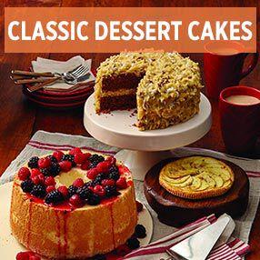 Classic Dessert Cake
