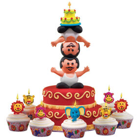 Well-Balanced Birthday Cake