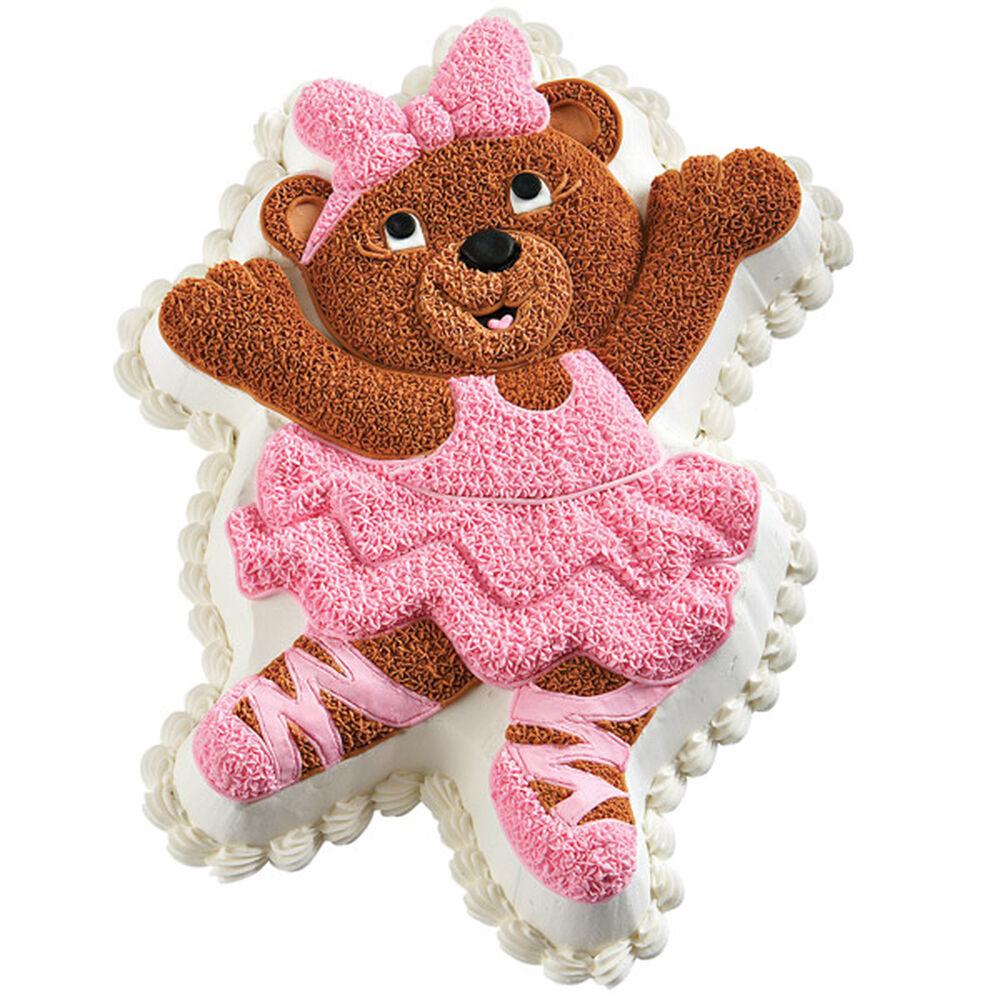 Ballerina Bear Cake Wilton