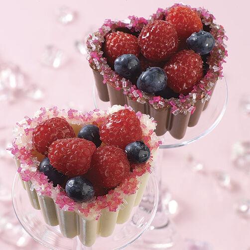 Sweet & Tart Hearts Dessert