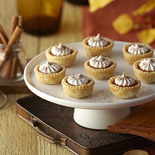 Pumpkin Spice Tartlets