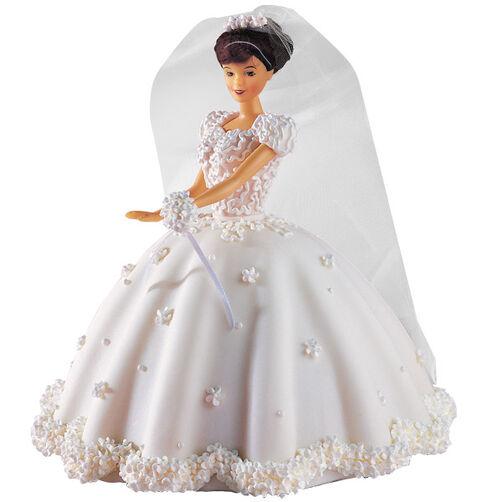 Beautiful Bride Doll Cake
