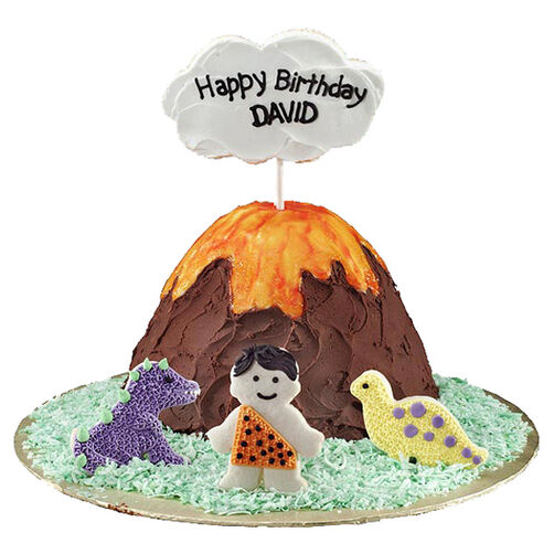 Prehistoric Party (Wonder Mold Pan) Cake