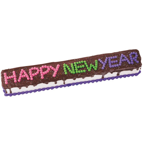 Here's to a Banner Year! Cake