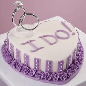 Words Ring True Cake
