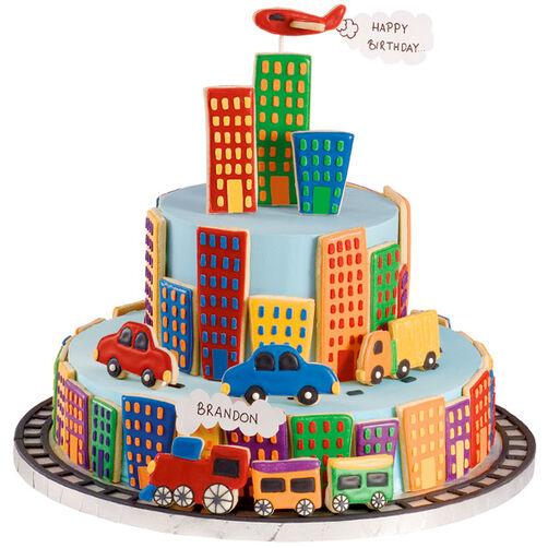 Key to the City! Cake