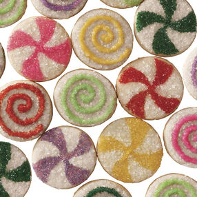 In Merry Motion Pinwheel Cookies