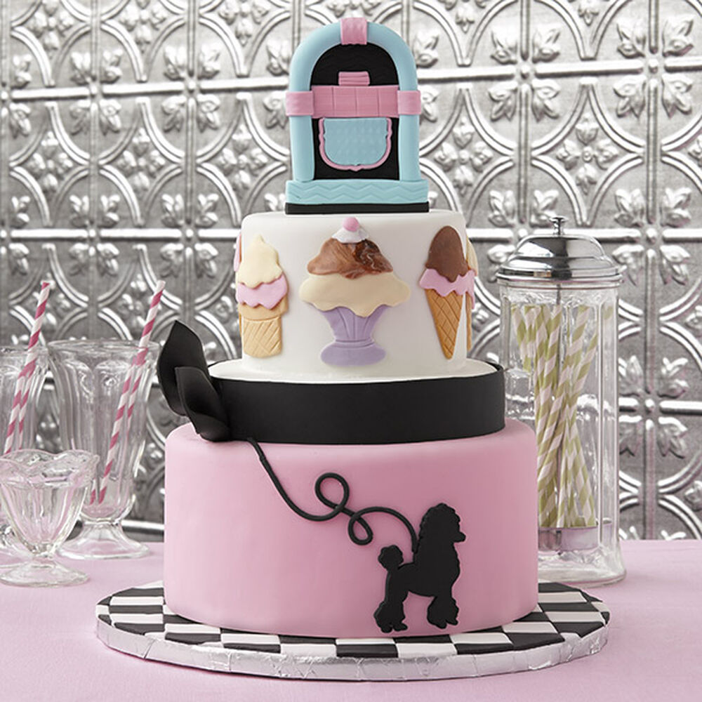 1950 S Malt Shop Cake Wilton