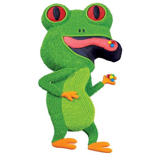 Joggin' Frog Cake