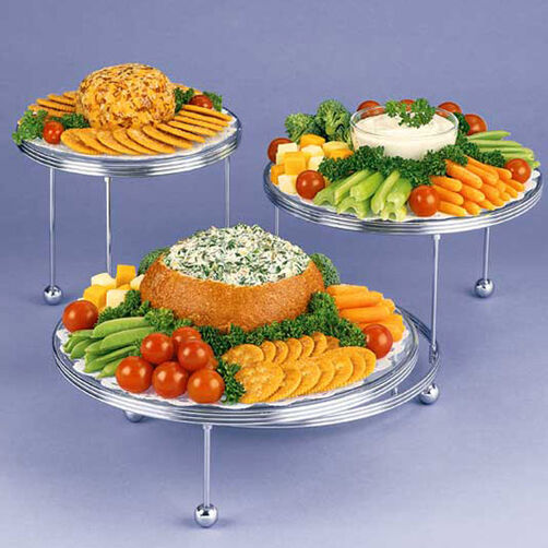 Wedding Finger Food Recipes: Appetizing Display Appetizers