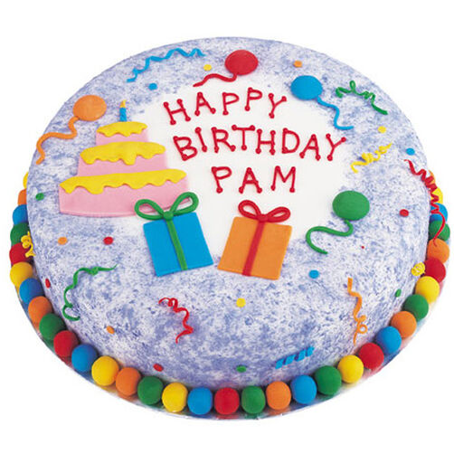 Dazzling Day Cake