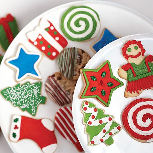 Peppermint Drop & Christmas Tree Cookies
