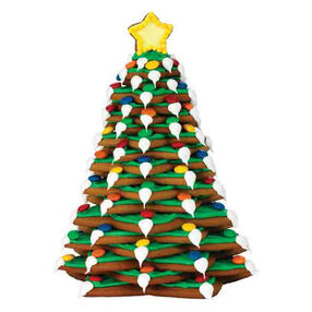 Holiday Lights Cookie Tree