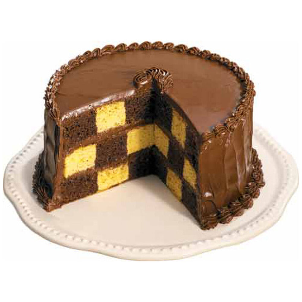 wilton checkerboard cake instructions