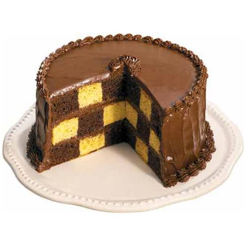 Easy Checkerboard Cake Recipe