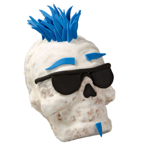 One Cool Dude Skull Mini Cakes Wilton