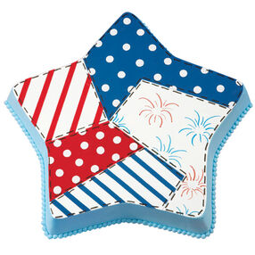 Oh Sew Can You See? Patriotic Cake